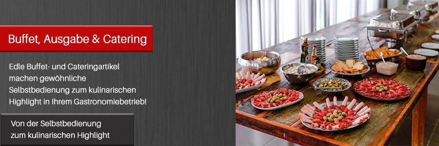 Kategoriebild Buffet, Ausgabe & Catering
