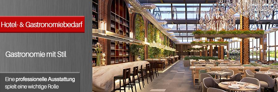 Kategoriebild Hotel- & Gastronomiebedarf